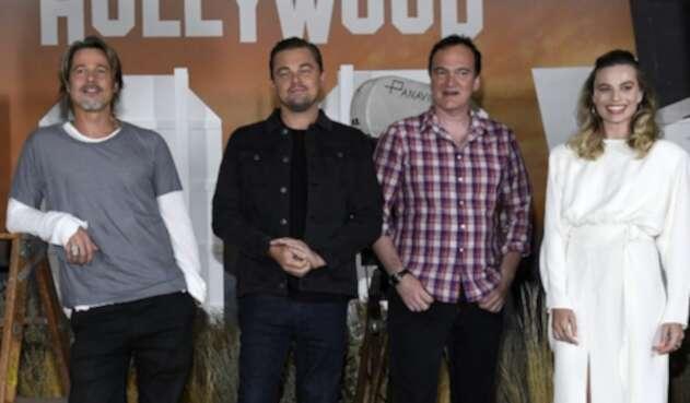 El trío de actores reafirmó su admiración por el talento y trabajo de Tarantino.