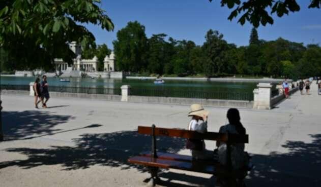 El Parque El Retiro, en Madrid