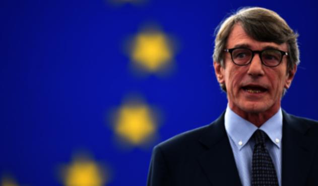 David Sassoli,nuevo presidente de la Eurocámara