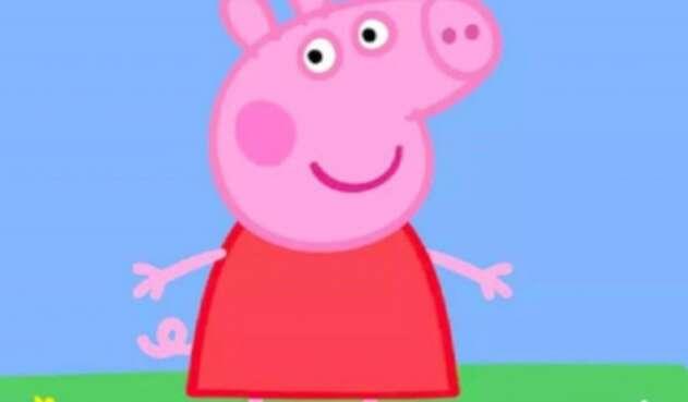 Peppa Pig. Imagen de referencia.