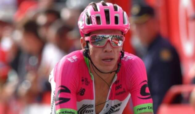 Rigoberto Urán, ciclista colombiano en el Tour de Francia
