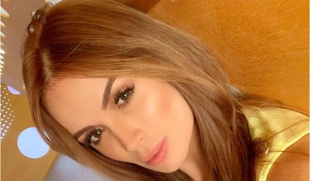 La modelo Sara Uribe