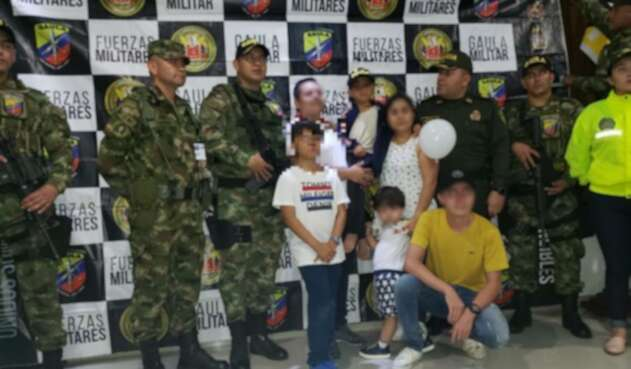 Rescate de niño en Putumayo