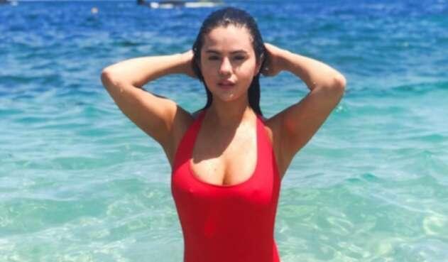 Selena Gomez de vacaciones en México