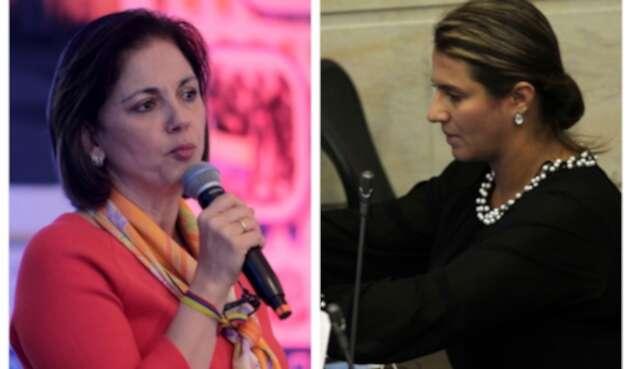 Paola Holguín y María del Rosario Guerra