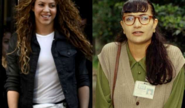 Shakira y Betty la fea