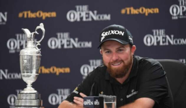 Shane Lowry, golfista irlandés.