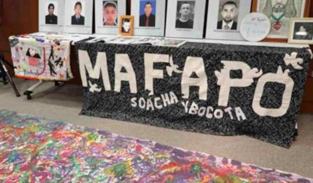 Imagen de referencia de la lucha de las 'Madres de Soacha'.