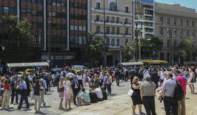 Temblor en Grecia