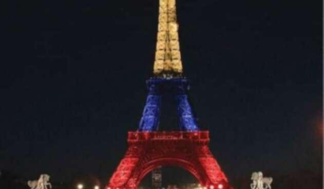 La foto compartida de la Torre Eiffel