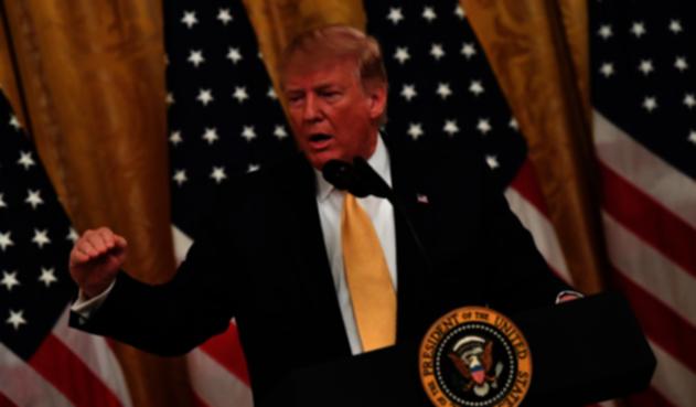 Trump en Cumbre de redes sociales