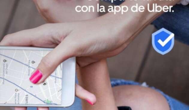 Uber, la aplicación de movilidad