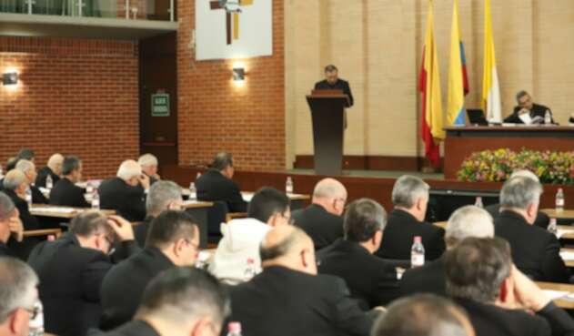 Instalación de la asamblea de oblispos, en la Conferencia Episcopal.