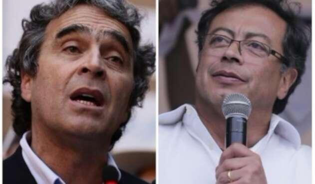 Gustavo Petro y Sergio Fajardo protagonizan un nuevo 'agarrón'.