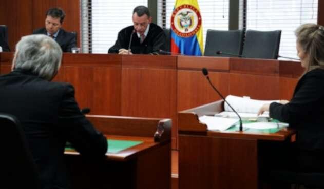 Sala de Instrucción de Primera Instancia de la Corte Suprema de Justicia.