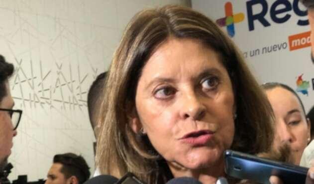 Vicepresidenta Marta Ramírez