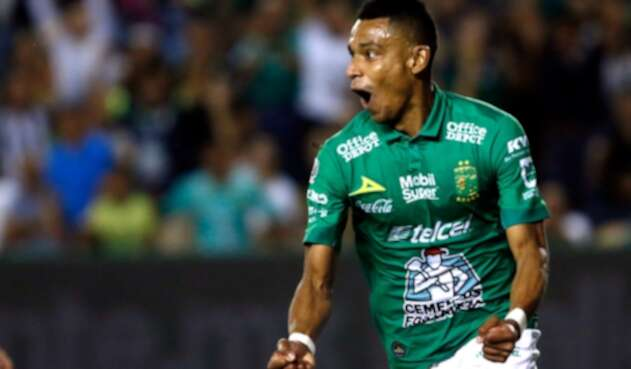William Tesillo, futbolista colombiano al servicio de León, de México