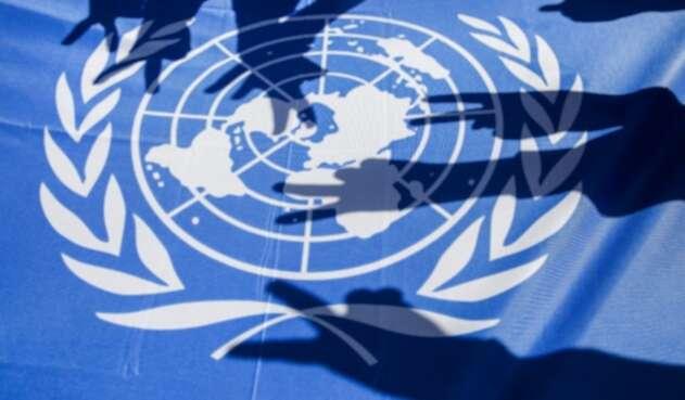 Bandera de la Organización de Naciones Unidas (ONU)