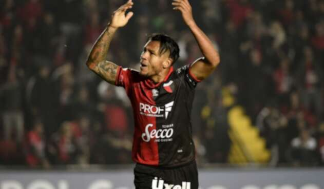 Wilson Morelo, delantero colombiano en Colón de Argentina