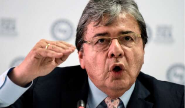 Canciller colombiano, Carlos Holmes Trujillo García.