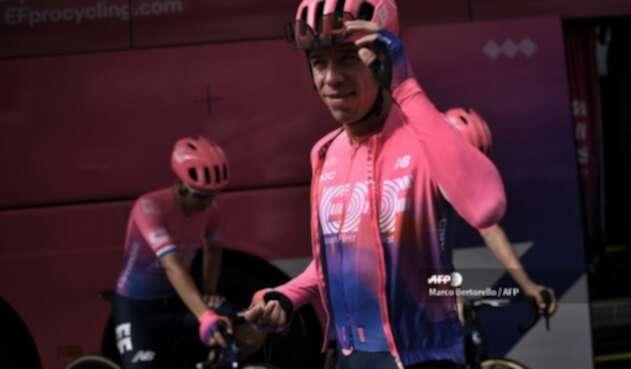 Rigoberto Urán, ciclistas colombiano del Education First