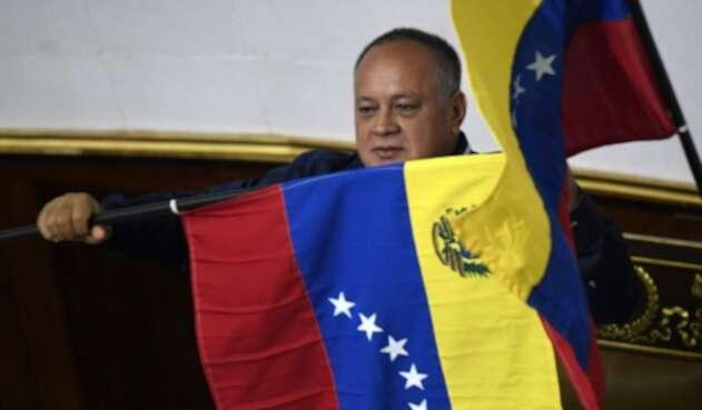 Diosdado Cabello, presidente de la Asamblea Nacional Constituyente
