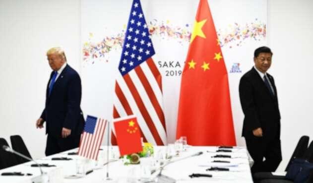 Donald Trump, presidente de Estados Unidos, y Xi Jinping, su par chino