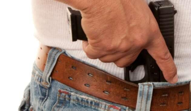Pistola, imagen de ilustración