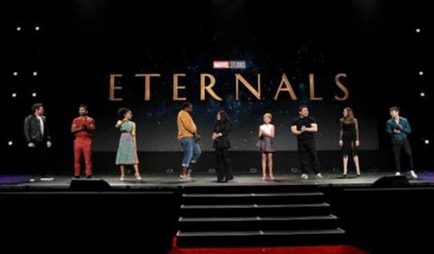 Elenco principal de The Eternals, de Marvel