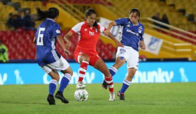 Millonarios Vs Santa Fe   Liga Águila Femenina