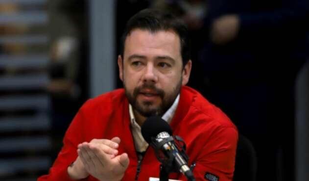Carlos Fernando Galan, concejal de Bogotá.