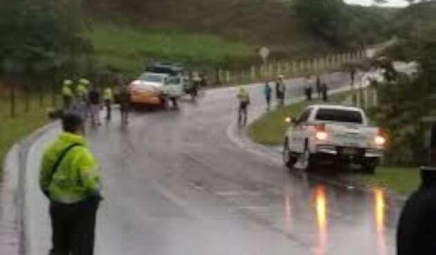 Dos jóvenes murieron en accidente de transito a la Costa Atlántica