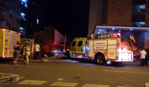 Accidente de tránsito en Los Colores, Medellín