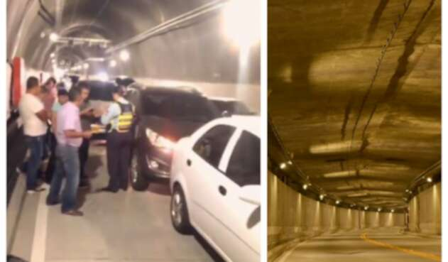 Accidente en Túnel de Oriente