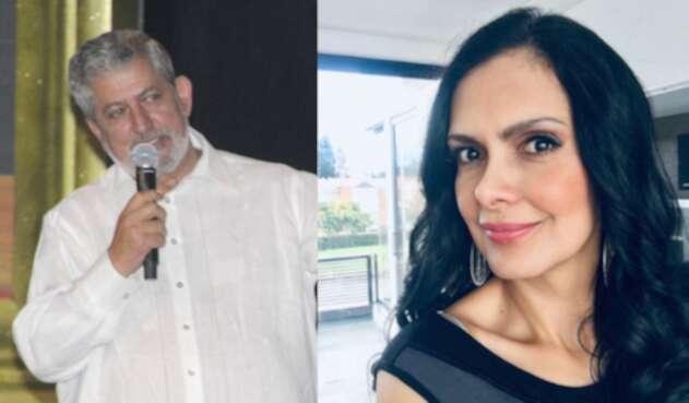 Alí Humar (director) y Marcela Posada (actriz)