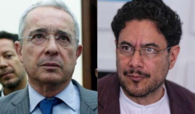 Álvaro Uribe Vélez e Iván Cepeda