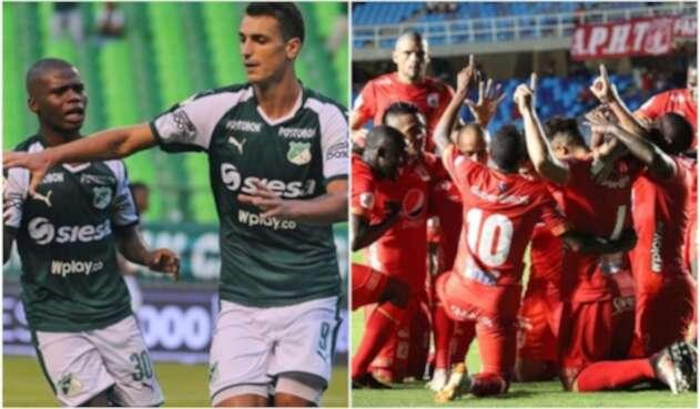 Deportivo Cali y América comandan la tabla de la Liga Águila en la fecha 4