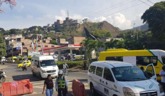 Bloqueo Cali-Buenaventura