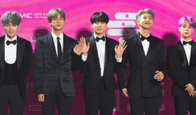 Grupo BTS Korea
