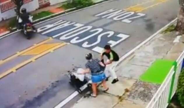 Autoridades investigan este caso de hurto