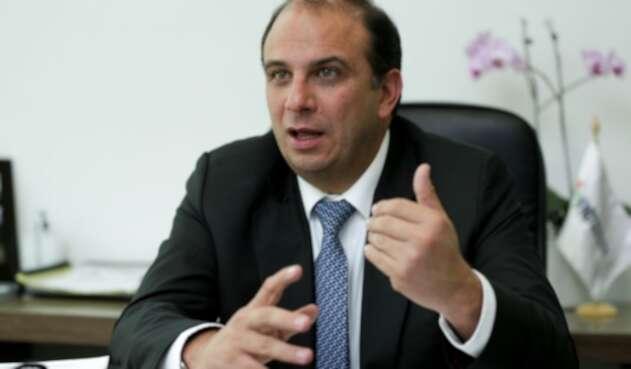 Carlos Camargo, director ejecutivo de la Federación Nacional de Departamentos.