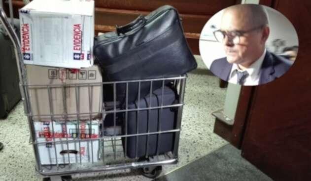 Material de la Fiscalía con el cual imputa cargos contra implicados en red de corrupción en la Contraloría de Antioquia