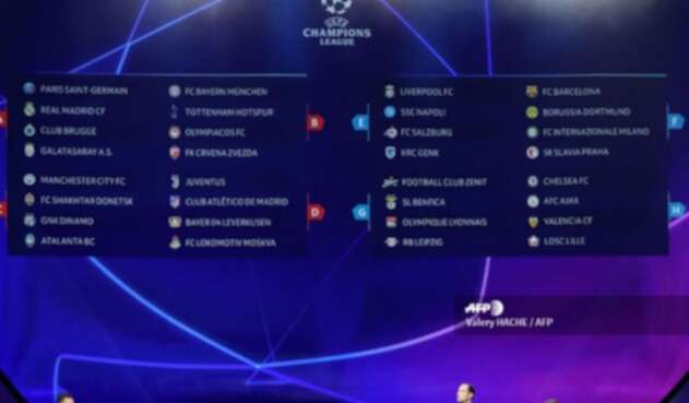 Champions League temporada 2019/2020