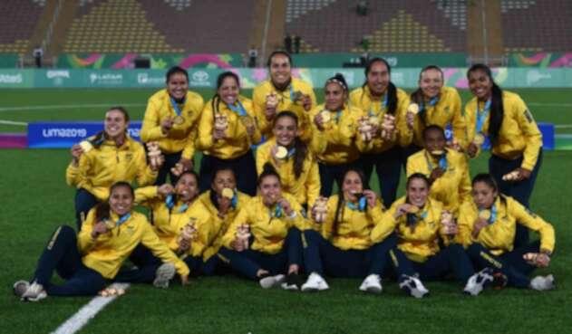 Colombia ganó el fútbol femenino Panamericano