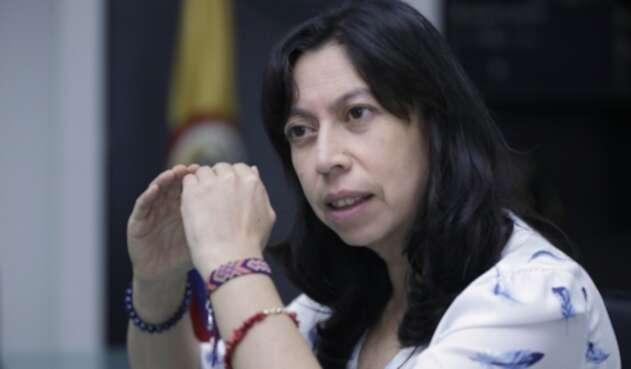 Yolanda González, directora del Ideam