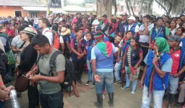 Indígenas Cauca