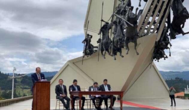 El Congreso de la República sesionó en Boyacá