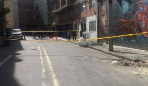 Cuerpo hallado en la Avenida Caracas con Calle 61