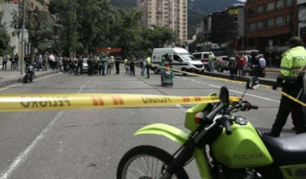 No bajan las cifras de delincuencia en Bogotá.