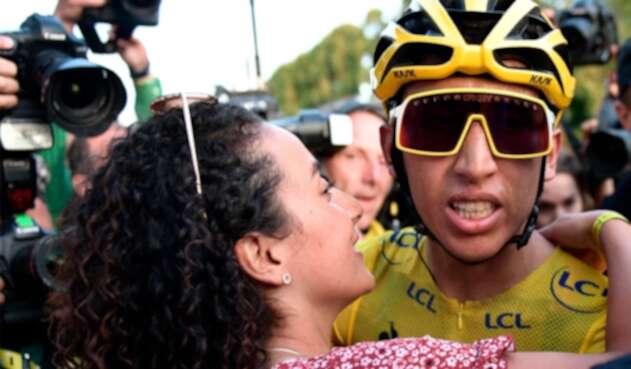 Egan Bernal, Tour de Francia, Xiomy Guerrero